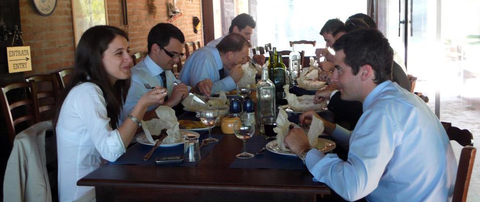 Pranzi e cene aziendali