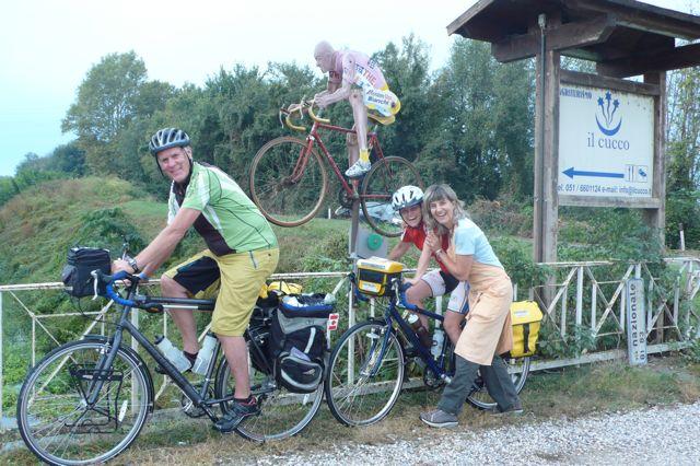 ciclisti canadesi con Pantani